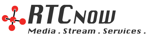 RTCnow Streaming Services Retina Logo